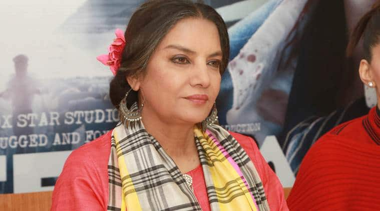Shabana Azmi on gender equality