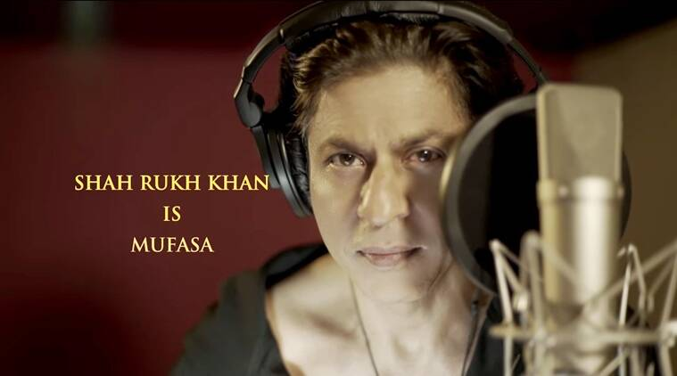 shah rukh khan dubs for the lion king