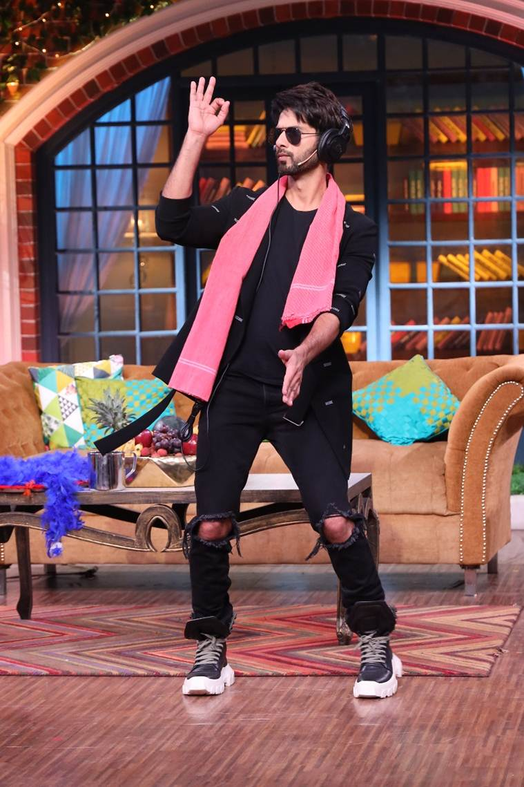 shahid kapoor the kapil sharma show