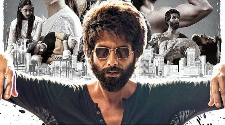 Shahid Kapoor plays an alcoholic in Kabir Singh