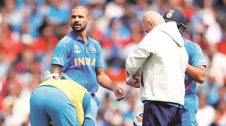 Shikhar Dhawan ruled out of World Cup, Rishabh Pant confirmed as replacement