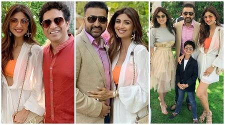 Shilpa Shetty, Sachin Tendulkar, Raj Kundra vacation photos
