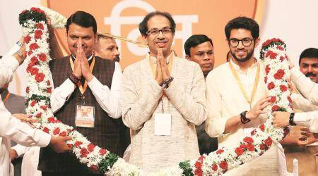 shiv sena, bjp, maharashtra govt formation, Maharashtra news, indian express