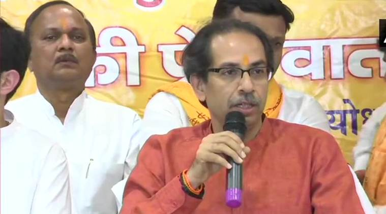 Uddhav Thackeray, shiv sena, Uddhav Thackeray Ayodhya visit, Ram temple issue, BJP-Shiv Sena, Uddhav Thackeray PM Modi, Ram Janmabhoomi case, Uddhav Thackeray in Ayodhya, Ram Lalla temple, Shiv Sena chief, India news, Indian Express