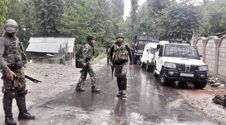 Militant killed in encounter in J-K, identity being ascertained