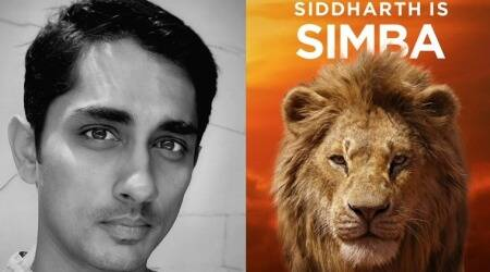 Siddharth voices Simba for The Lion King Tamil version