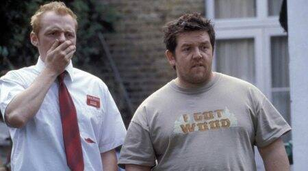Simon Pegg and Nick Frost shaun of the dead