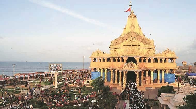 somnath temple, somnath temple gujarat, gujarat somnath temple, gujarat social justice department, social justice department gujarat, india news, Indian Express