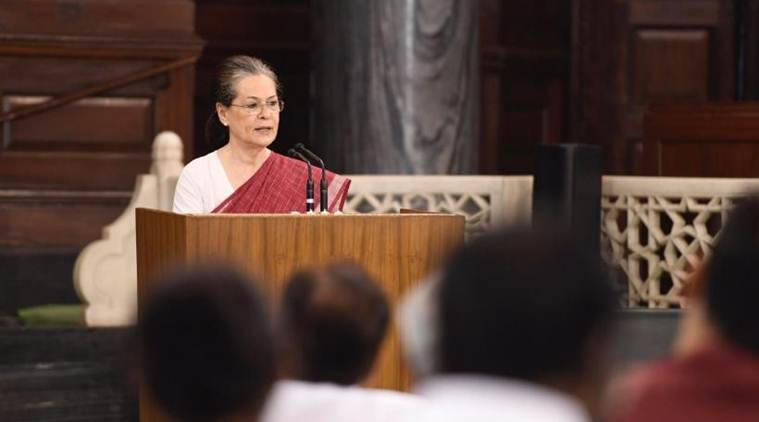 Congress, INC, Congress President, Sonia Gandhi, Rahul Gandhi, Sachin Pilot, Congress chief, Congress MP meeting, India News, Indian express