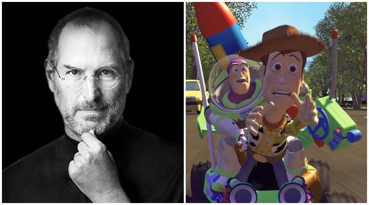 steve jobs connection with toy story