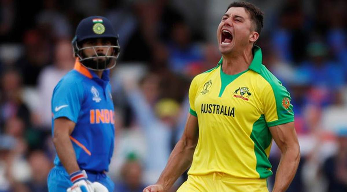 Marcus Stoinis ruled out of Pakistan game, Mitchell Marsh called to fill in   Sports News,The Indian Express