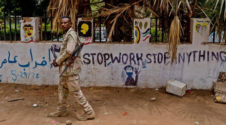 Sudan, Sudan news, Sudan military, Sudan coup, Sudan protest, Sudan protest news, Sudan democracy protests, Sudan military coup, Indian Express, World news
