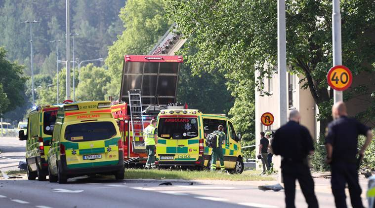 Sweden, Sweden Explosion, Sweden Linkoping, Linkoping Sweden, Sweden news, World news, Indian Express, latest news