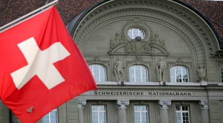 Indians' funds in Swiss banks, Finance ministry, Swiss authorities, Switzerland's central bank, Swiss deposits fall, India news, Indian express