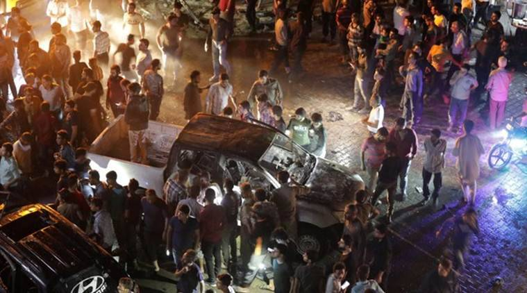 Car blast hits rebel-held north Syria