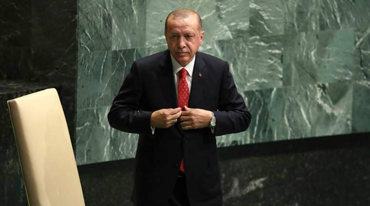 Turkish President Erdogan raises Kashmir issue in United Nations  speech
