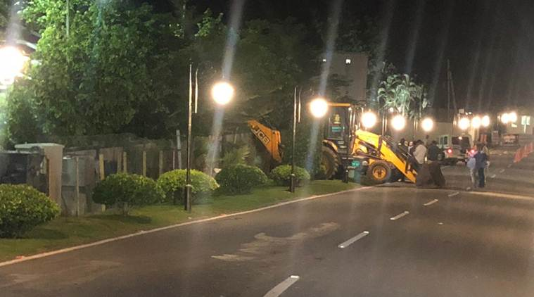 Day after Reddy order, bulldozers arrive to raze Rs 10-cr complex built by Naidu
