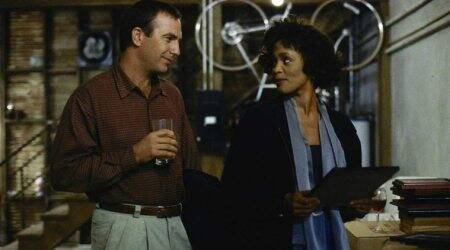 The Bodyguard Whitney Houston and Kevin Costner