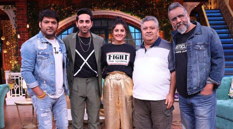 Ayushmann Khurrana The Kapil Sharma Show