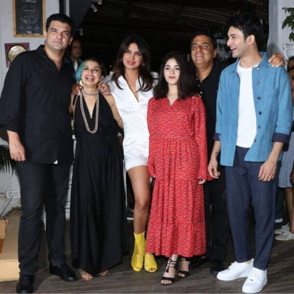 The Sky is Pink, The Sky is Pink wrap up, The Sky is Pink party, priyanka chopra, priyanka chopra photos, priyanka chopra dance, priyanka chopra news, The Sky is Pink news