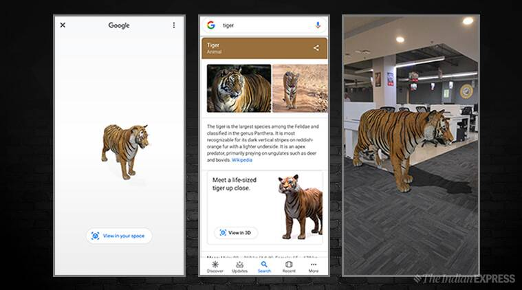 google ar search result, 3d animals ar result, google search 3d animals, animals in real world, google search, google, google search animals 3d models, google AR enabled search