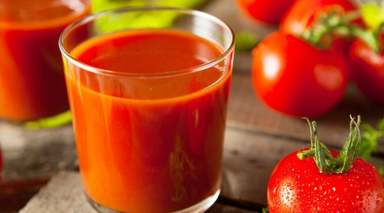 tomato juice, unsalted tomato juice, blood pressure, tomato juice blood pressure, indian express