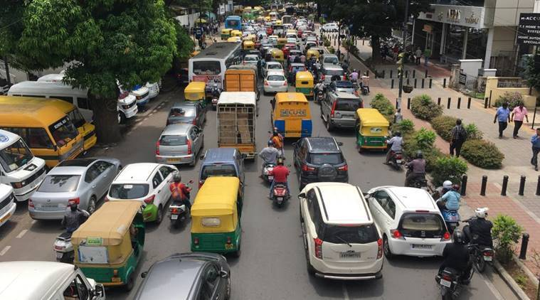 Why is Bangalore stuck in traffic jams? - BBC News
