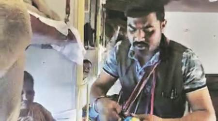 Gujarat: Train hawker arrested after video of him mimicking politicians goes viral