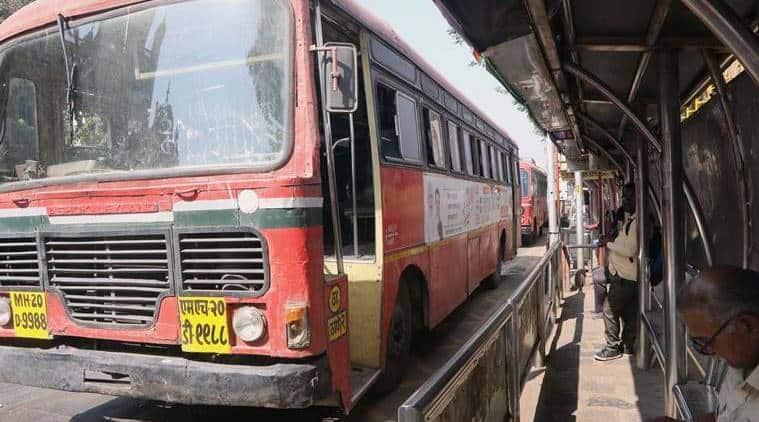 MSRTC buses, coronavirus lockdown, Mumbai news, Maharashtra news, Indian express news