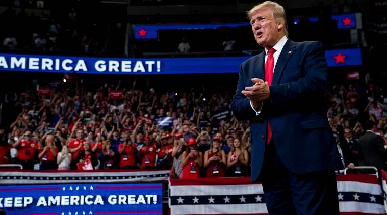 Donald trump Presidential Election Of 2020, trumps Florida rally, United States Presidential Elections, 2020 United States Presidential Elections, donald trump 2020 reelection bid, donald trump president 2020, us news