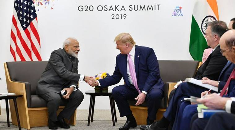 G20, G20 Summit, G20 modi, g20 summit modi, g20 summit narendra modi, modi trump g20, g20 modi trump, modi putin, modi abe, modi in Japan, Osaka G20, G20 summit live updates, G20 news, G20 japan news, Japan g20 news, G20 summit japan, India G20 summit, indian express