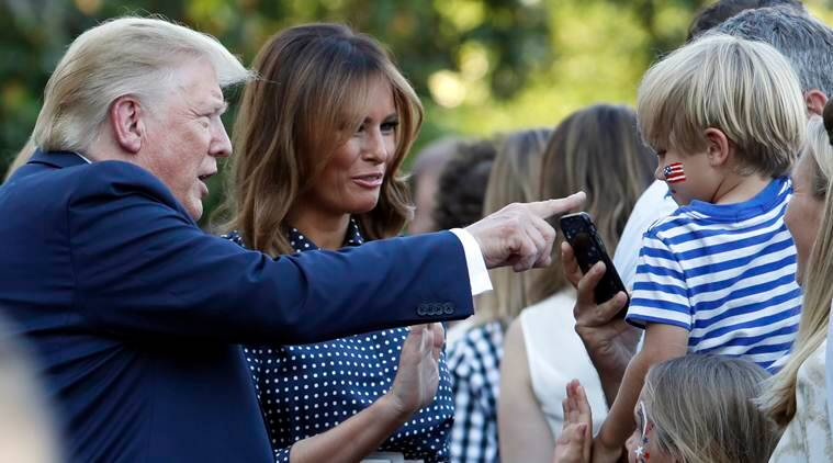 Donald Trump hosts White House picnic after a tense day involving Iran