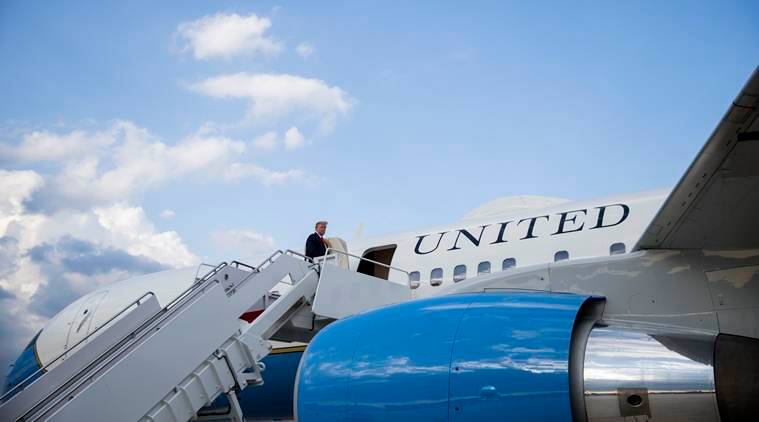 President with taste for planes has plan for Air Force One: Paint it red, white and blue