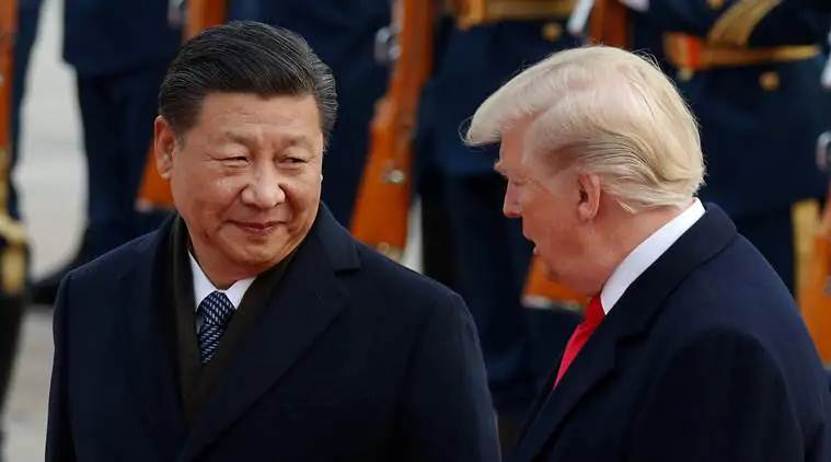 donald trump, us president donald trump, president trump, xi jinping, chinese president xi jinping, kim jong un, north korea kim jong un, kim jong un north korea, trump kim xi, donald trump xi jinping kim jong un, world news, Indian Express
