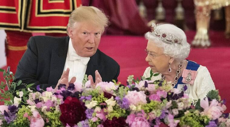 Trump's UK visit turns to Brexit and Huawei as protests planned in London