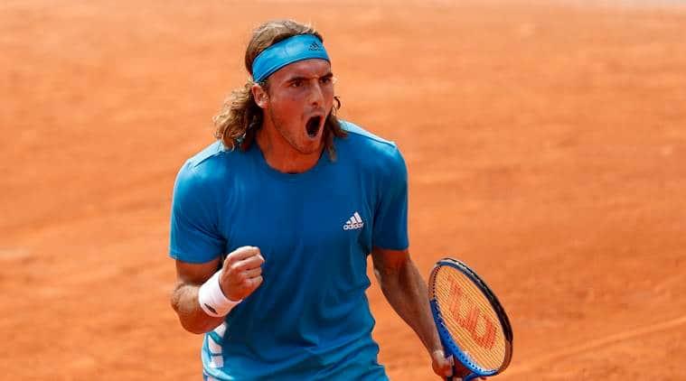 French Open 2019: Stefanos Tsitsipas sweats into fourth round