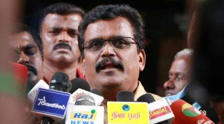 Thanga Tamilselvan, DMK, Stalin, AMMK, AIADMK, TTV Dhinakaran, Tamil Nadu Politics, Edappadi K Palanisamy, Tamil Nadu News, Indian Express News, Chennai News
