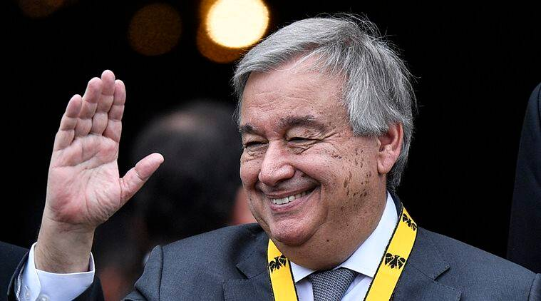 united nations, un, india in un, antonio guterres, un chief, united nations chief, unsc, unga, united nations security council, un security council, un general assembly, world news, Indian Express