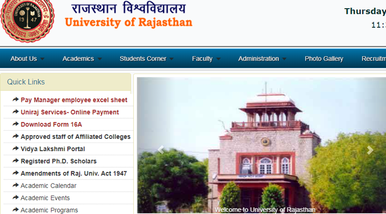 Uniraj result 2019: Rajasthan university releases BSc and BCom exam results; UG students can check score at uniraj.ac.in