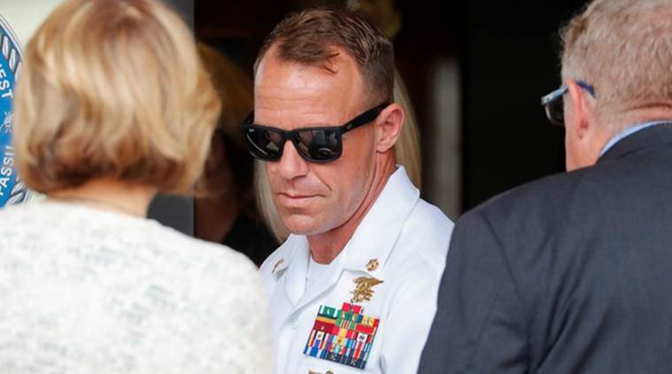 Us navy seal, ISIS, Us navy, US navy in iraq, US navy seal case, navy seal case, donald trump, us president donald trump, president trump, world news, indian express
