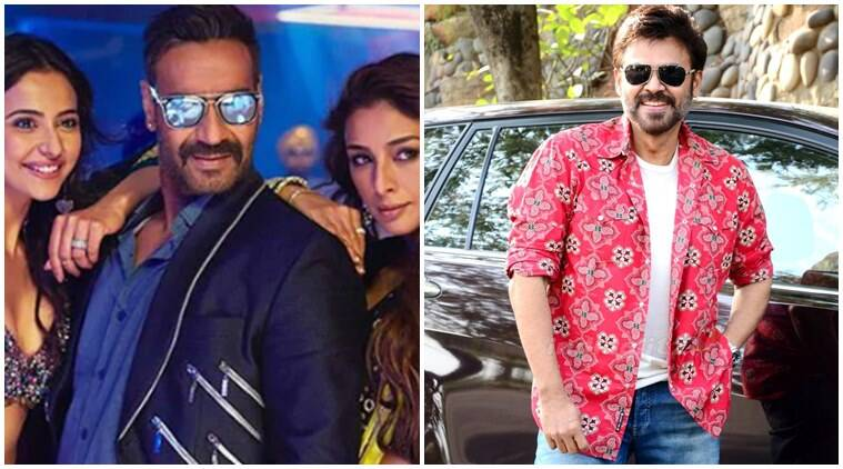 Venkatesh to star in De De Pyaar De Telugu remake