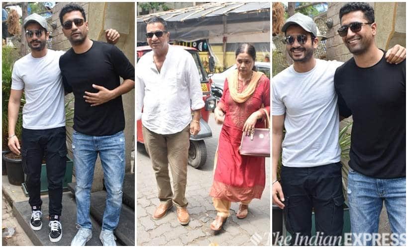 Vicky Kaushal, Sunny Kaushal with parents