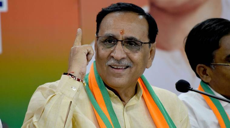 gujarat cm vijay rupani, rupani on amit shah-pm modi, article 370 abrogation, jammu and kashmir, gujarat news, indian express