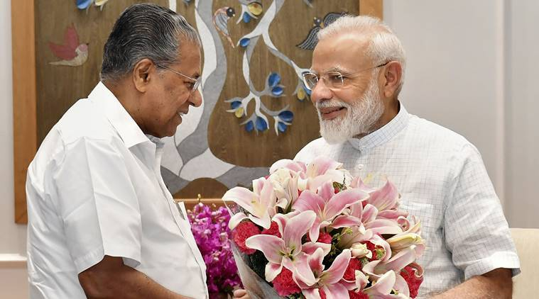 Kerala chief minister meets Modi, raises issue of Thiruvananthapuram airport's privatisation