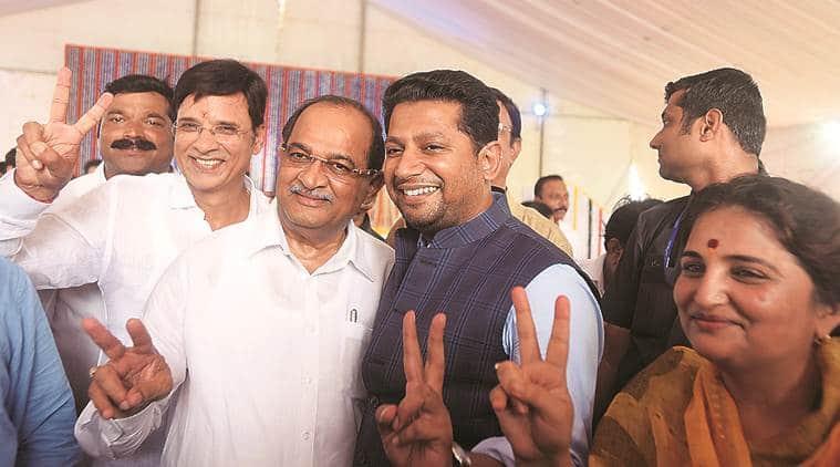 maharashtra cabinet, maharashtra chief minister, Maharashtra cabinet expansion, Vikhe Patil BJP, Mumbai, Mumbai news, Devendra fadnavis, BJP, Shiv Sena, Maharashtra state cabinet, Maharashtra elections, Mumbai politics, India news, Indian Express