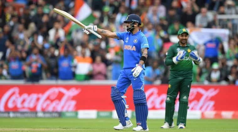 virat kohli, india vs pakistan, icc world cup, kolhi 11000 runs, kohli records, fastest ODI 11000 runs, cricket news, indian express
