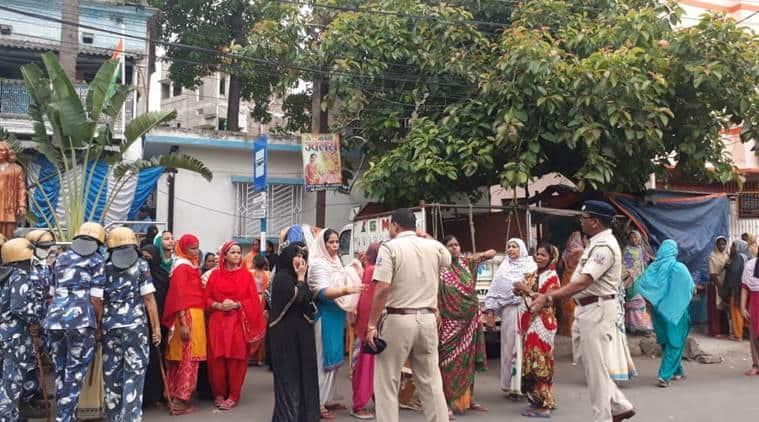bhatpara violence, bhatpara clash, west bengal bhatpara violence, west bengal clash bhatpara, west bengal violence,