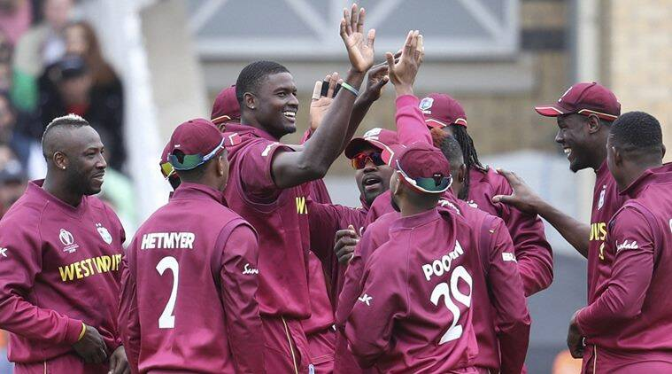 West Indies all-rounder Carlos Brathwaite reprimanded for showing dissent