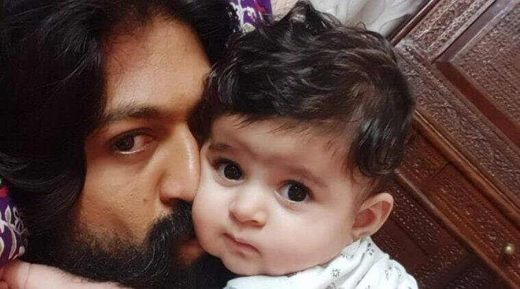 Yash and Daughter, Ayra Yash