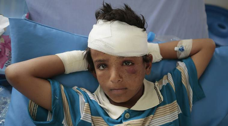 Yemen, Yemen war, Yemen children, Yemen cisis, Antonio Guterres, Yemen children deaths, Indian Express